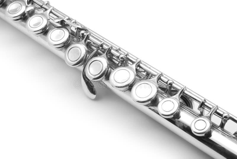 Detalhe da flauta fotografia de stock