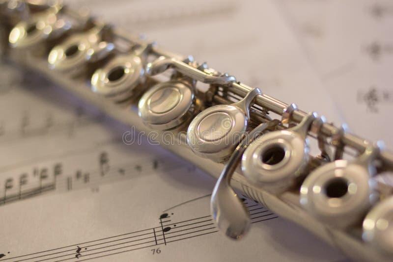 Detalhe da flauta fotos de stock
