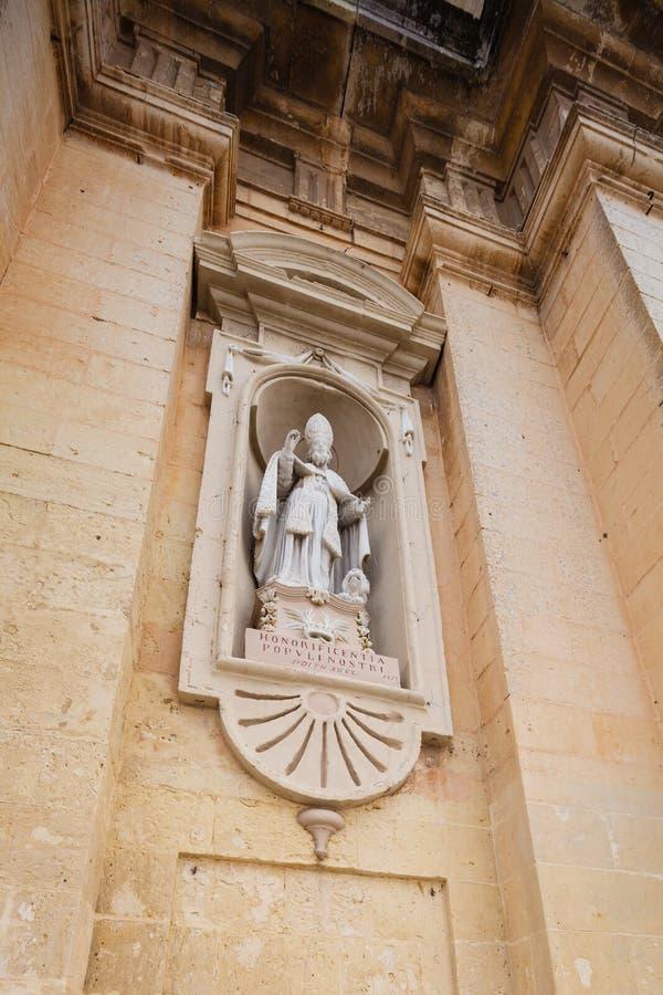 Igreja paroquial de St Paul - detalhe fotografia de stock