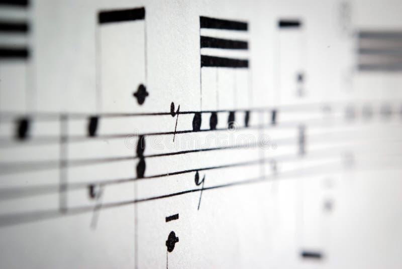 Detalhe da música fotografia de stock