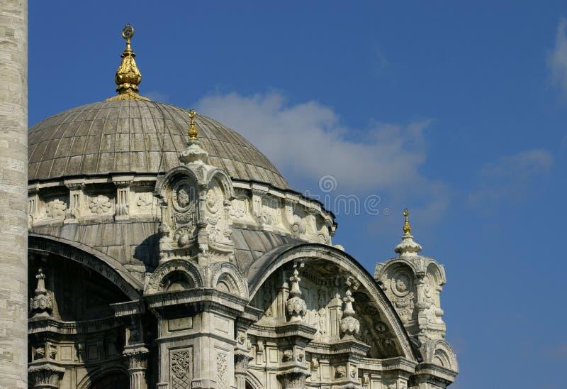 Download Detalhe Da Mesquita De Ortakoy Imagem de Stock - Imagem de turista, ottoman: 108107