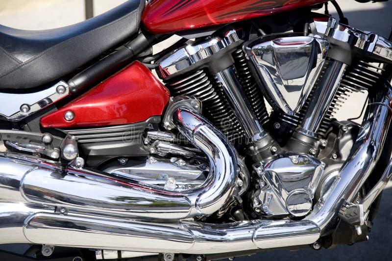 Detalhe da motocicleta foto de stock royalty free