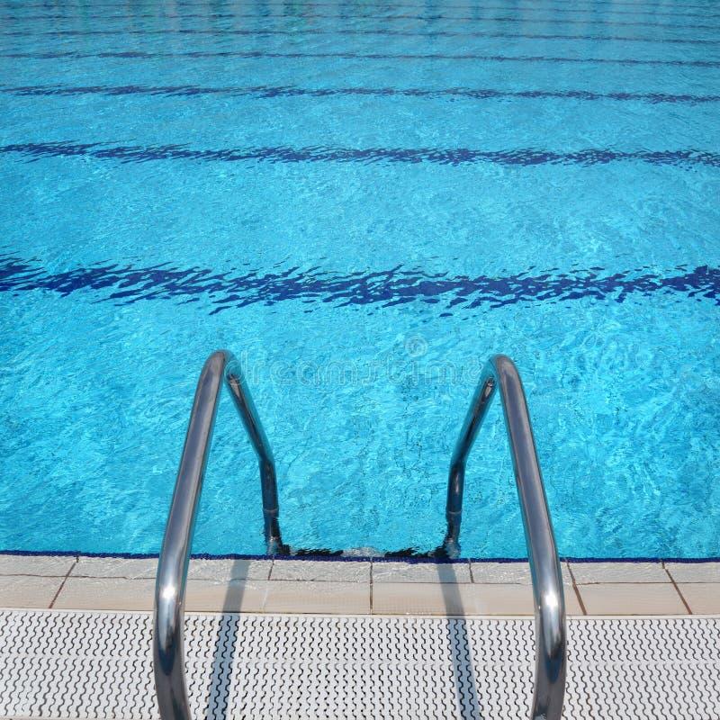 Detalhe da piscina foto de stock royalty free