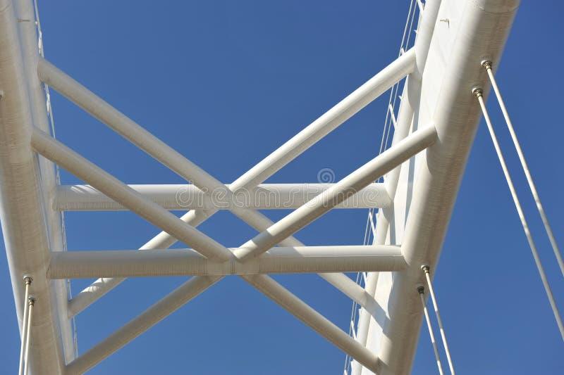 Detalhe da ponte imagens de stock
