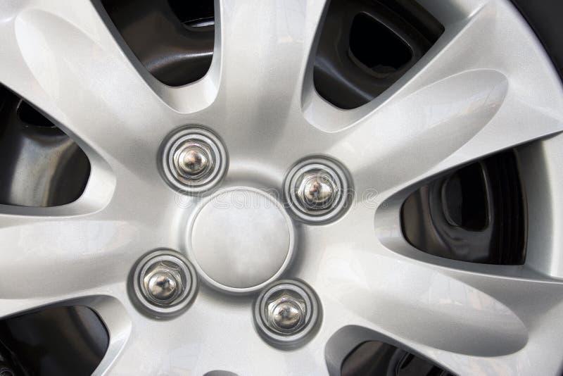 Detalhe da roda de carro imagens de stock royalty free