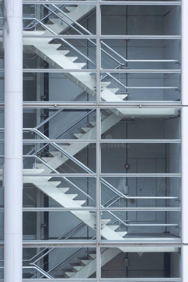 Detalhe das escadas fotografia de stock