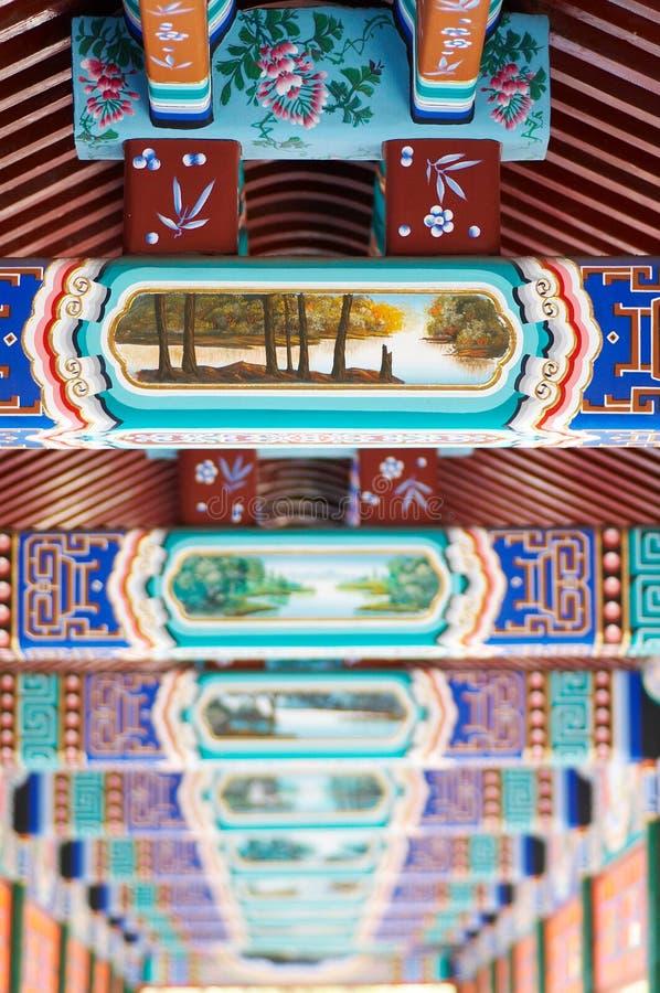 Detalhe de arquitetura antiga chinesa fotos de stock royalty free