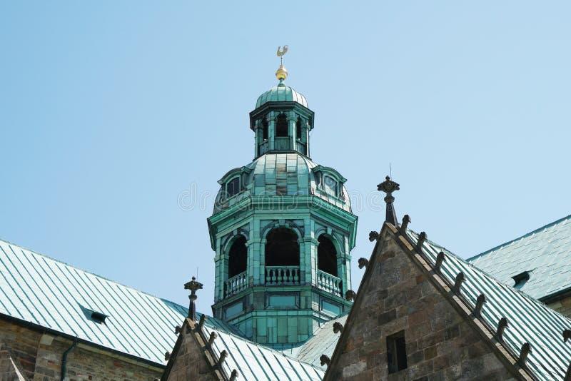 Detalhe de catedral de Hildesheim em Alemanha foto de stock royalty free