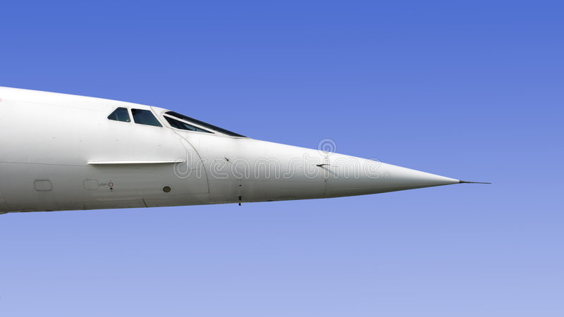 Detalhe de Concorde fotografia de stock