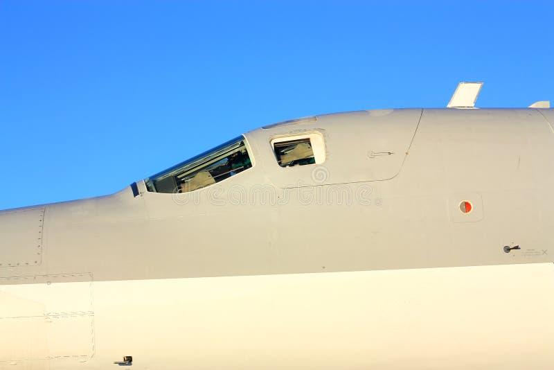 Detalhe de ` do malogro do ` do bombardeiro de longo alcance Tu-22M imagem de stock royalty free