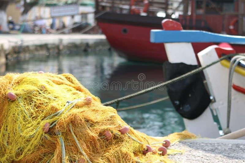 Detalhe de Fishingnet fotos de stock