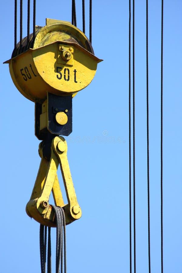 Download Detalhe De Gancho Do Guindaste Do Edifício Foto de Stock - Imagem de ferro, maquinaria: 16862318