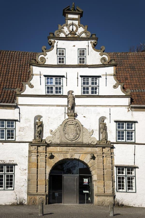 Detalhe De Gatehouse Em Husum Fotos de Stock Royalty Free