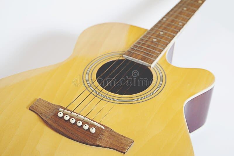 Detalhe de guitarra clássica imagens de stock royalty free