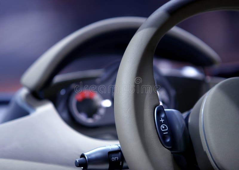 Detalhe de Inerior do carro fotos de stock