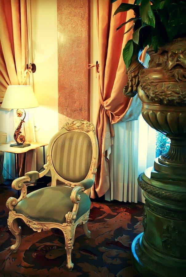 Detalhe de interior clássico imagem de stock royalty free