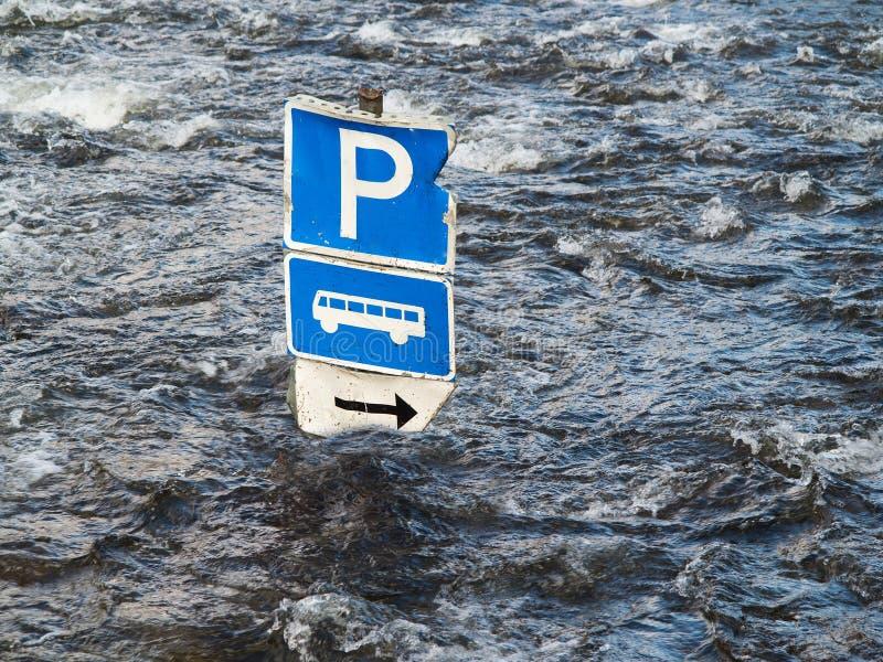 Detalhe de inundação fotos de stock royalty free