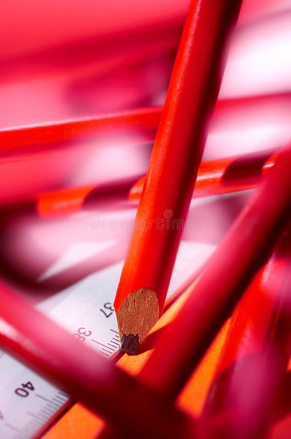 Detalhe de lápis do carpinteiro imagem de stock royalty free