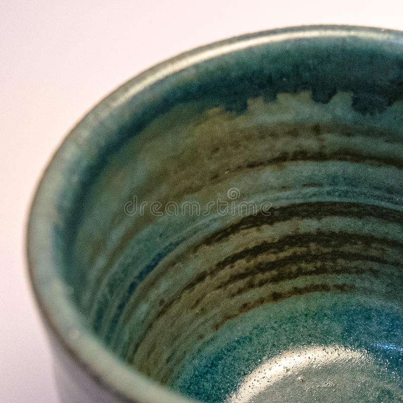 Detalhe de mercadoria feito a mão japonesa da cerâmica de Tokoname fotos de stock royalty free