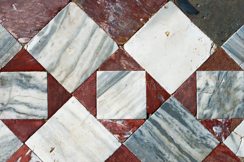 Detalhe de mosaico colorido antigo. imagem de stock