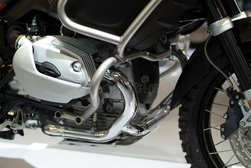 Detalhe de motor da motocicleta fotos de stock