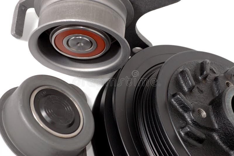 Detalhe de motor de automóvel. foto de stock