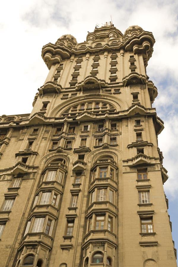 Detalhe de palácio da salva, Montevideo. foto de stock