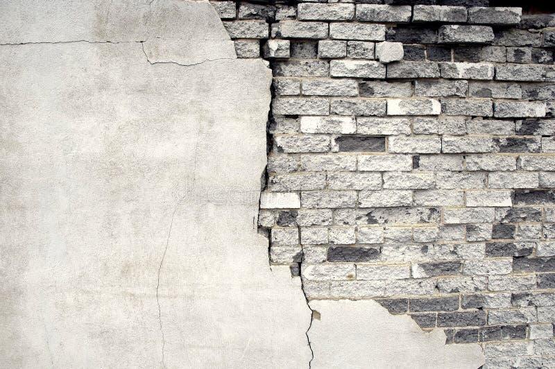 Detalhe de parede de tijolo velha imagens de stock royalty free