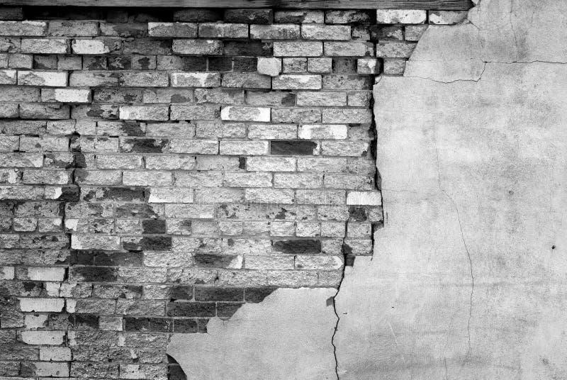 Detalhe de parede de tijolo velha foto de stock royalty free