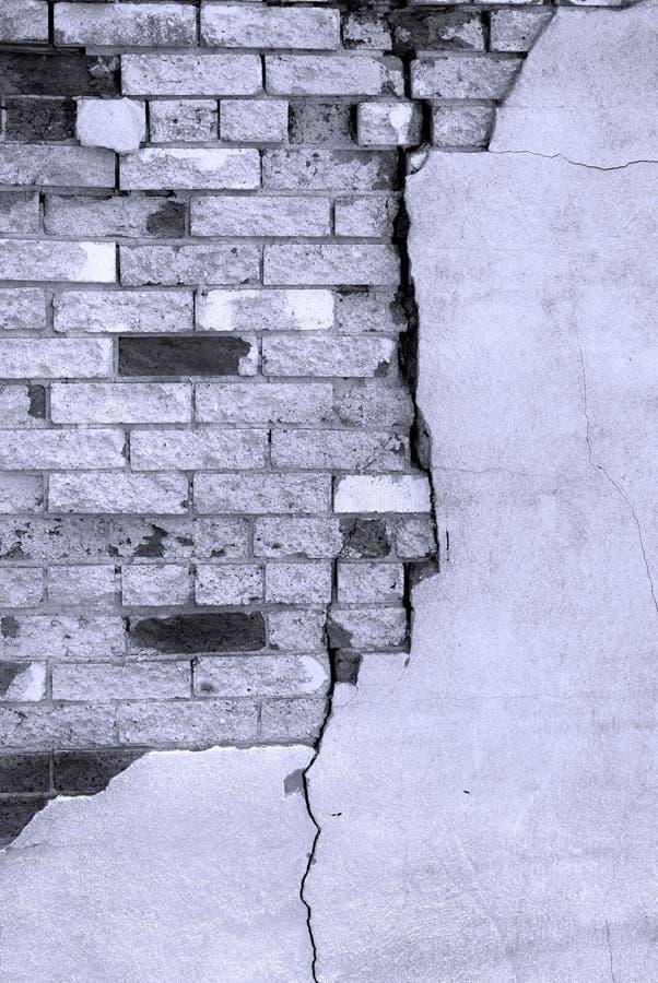 Detalhe de parede de tijolo velha imagens de stock