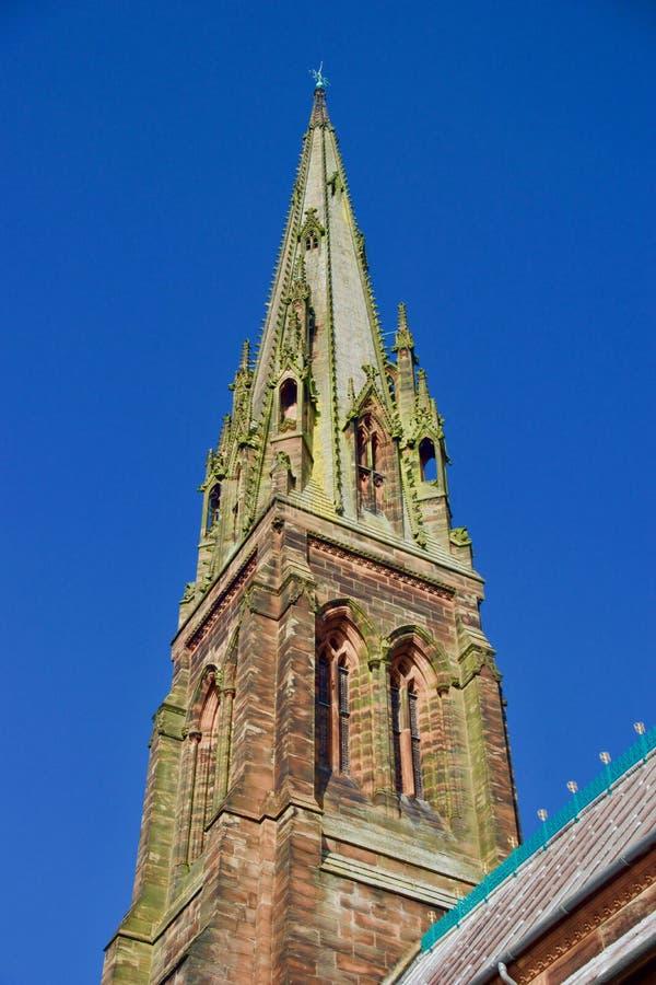 Detalhe de pináculo de St Giles imagem de stock royalty free