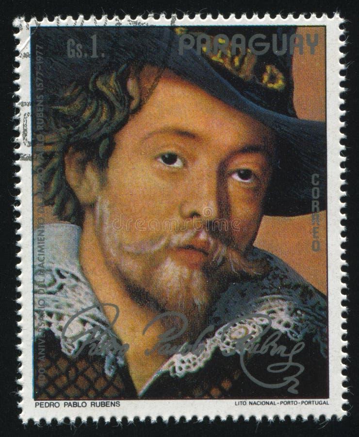 Detalhe de pintar Rubens e Isabella Brant fotografia de stock royalty free