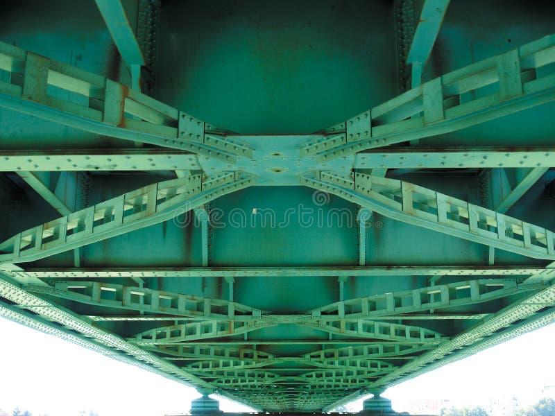 Detalhe de ponte fotografia de stock