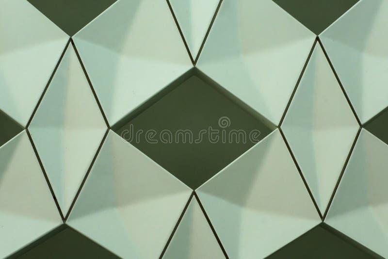 Detalhe de projeto geométrico moderno da parede fotografia de stock royalty free