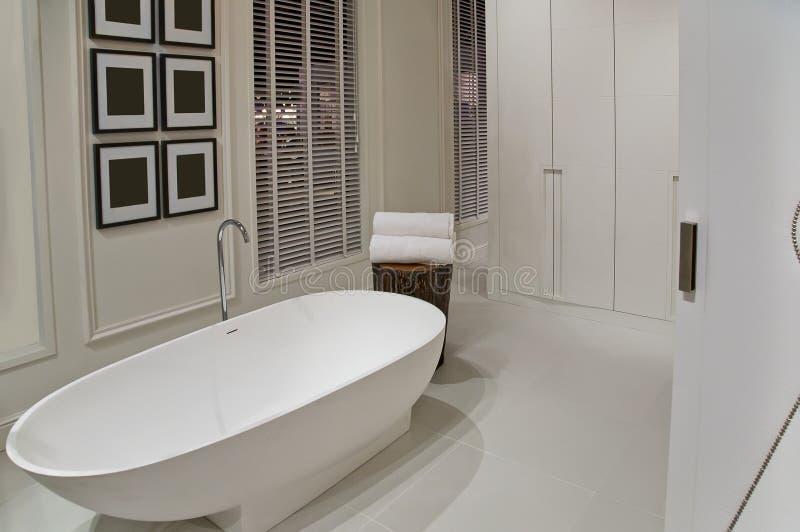 Detalhe de quarto do banho foto de stock royalty free