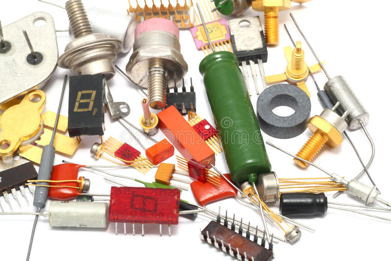 Detalhe de rádio imagem de stock