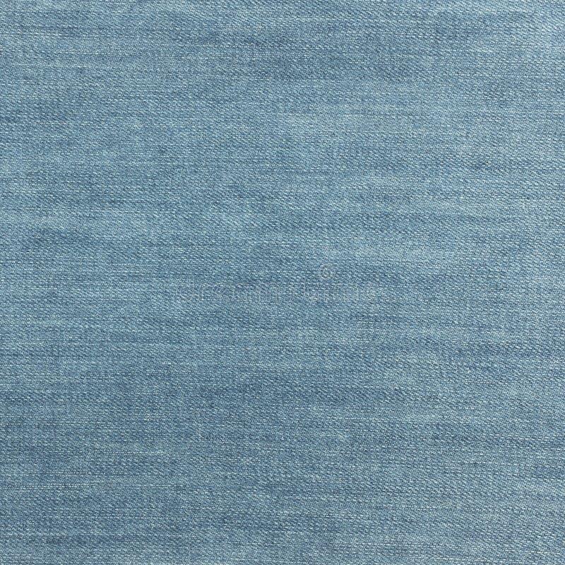 Detalhe de textura de brim da sarja de Nimes e sem emenda imagens de stock royalty free