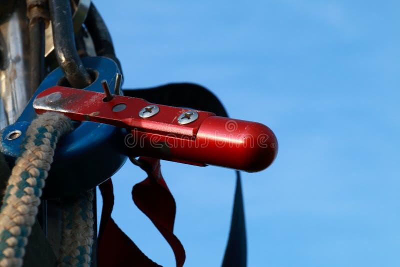 Detalhe de um balão de ar quente imagens de stock royalty free