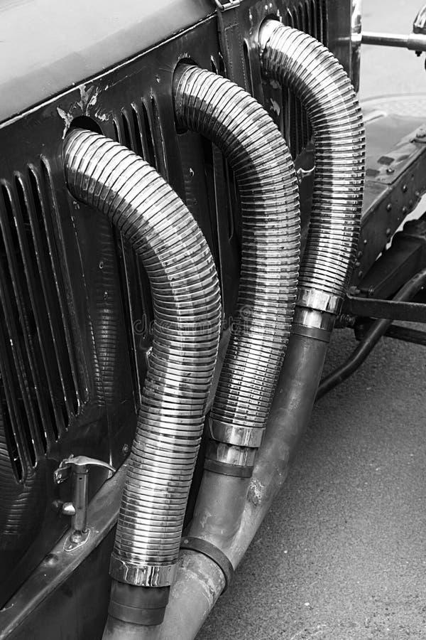 Detalhe de um carro antigo fotografia de stock royalty free