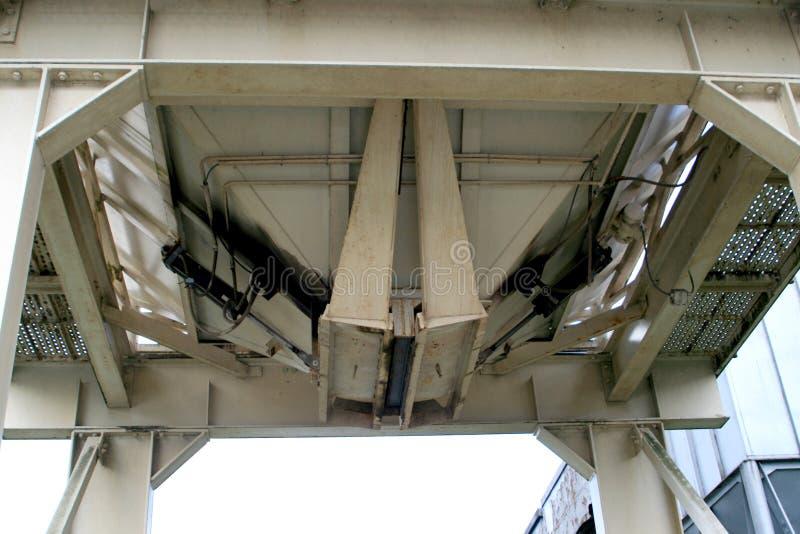 Detalhe de uma cisterna fotografia de stock