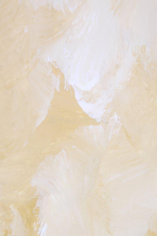 Detalhe de uma pintura acrílica ilustração stock