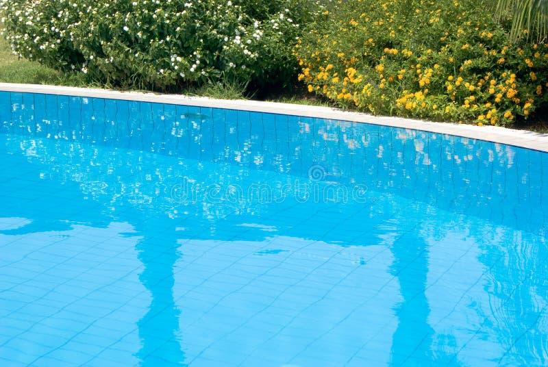 Detalhe de uma piscina fotos de stock royalty free