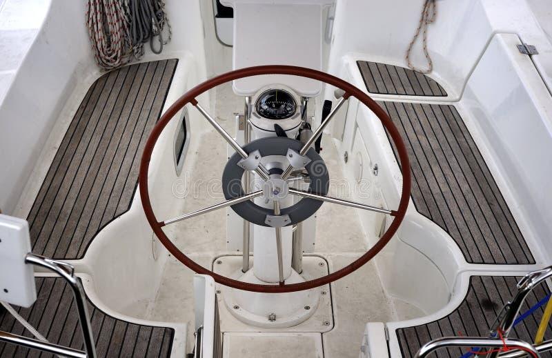 Detalhe do barco foto de stock