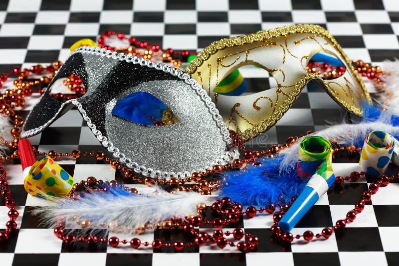 Detalhe do carnaval fotografia de stock royalty free