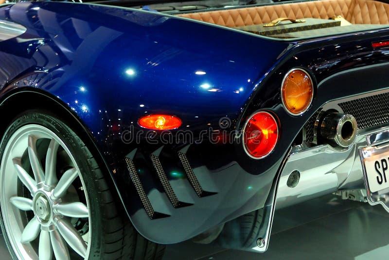 Detalhe do carro de esportes fotos de stock royalty free