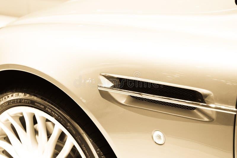 Detalhe do carro de esportes imagem de stock royalty free