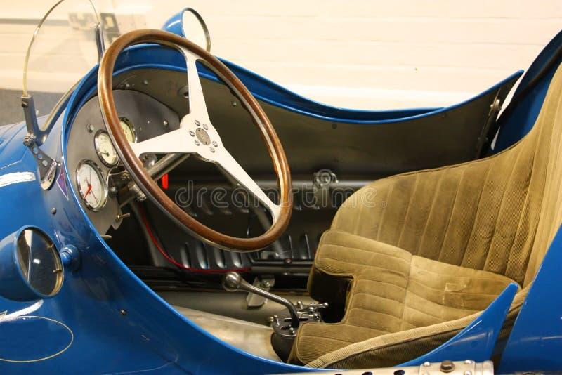 Detalhe do carro desportivo do vintage imagem de stock