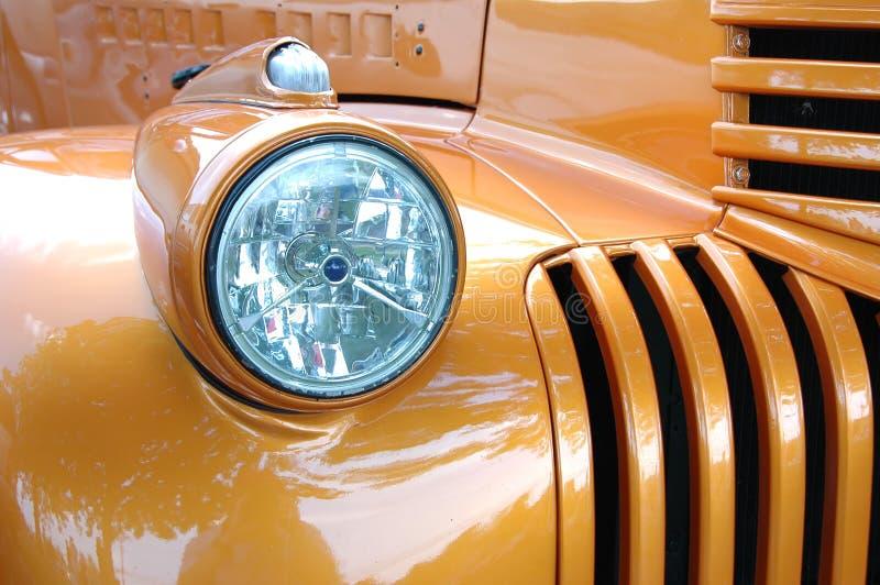Detalhe do carro do vintage imagem de stock