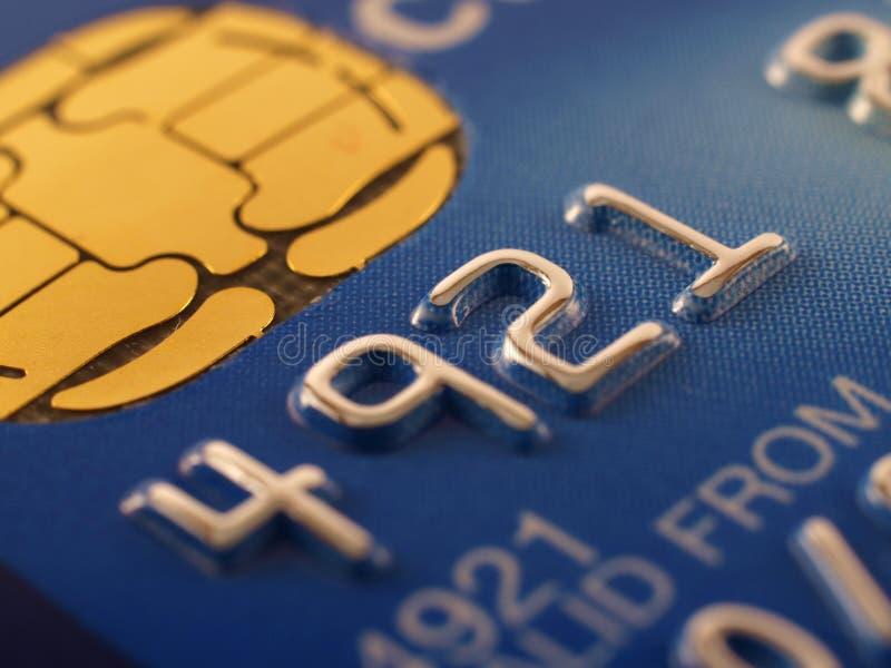 Detalhe do cartão de crédito imagens de stock