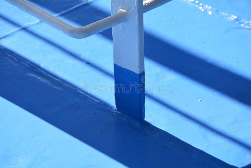 Detalhe do close up de uma plataforma do ferryboat imagens de stock royalty free